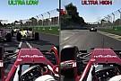 F1 2016: ilyen ultra alacsony és ultra magas grafikai beállításokkal a játék