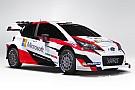 Bemutatkozott a Toyota 2017-es WRC autója