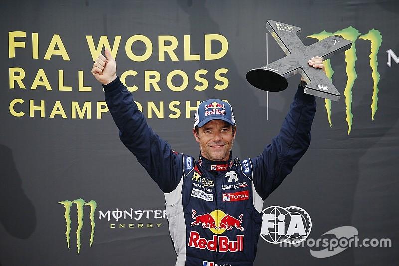 Loeb mette la firma anche nel Rallycross: prima vittoria in Lettonia