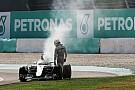Mercedes revisa parámetros de motor tras lo vivido en Malasia