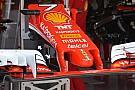 Технический брифинг: пилоны переднего крыла Ferrari SF16-H