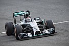 Bildergalerie: Jorge Lorenzo im Mercedes F1 W05
