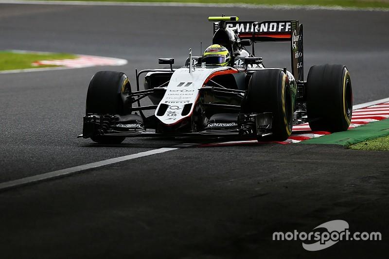 Sergio Pérez inicia en el top 10 en Suzuka