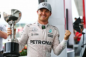 Formule 1 Réactions Rosberg ne veut pas faire l'épicier
