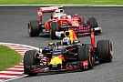 Red Bull explica los problemas de Ricciardo en Suzuka