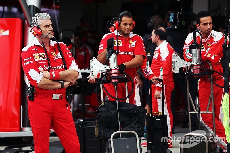 "Ferrari es ""un grupo de gente asustada, no un equipo"", dice Baldisserri"