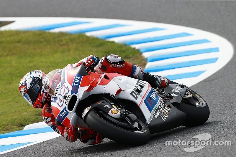EL1 - Dovizioso grille la politesse aux marques japonaises
