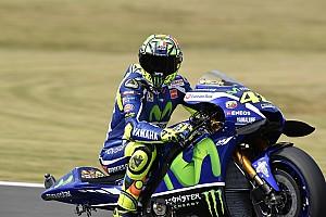 MotoGP Отчет о квалификации Росси завоевал поул в Японии