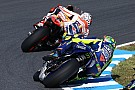 Crash in Japanse Grand Prix grote verrassing voor Rossi