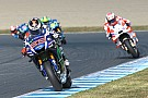 MotoGP test op Phillip Island met berichtensysteem via dashboard
