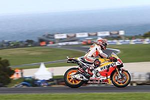 MotoGP Qualifyingbericht MotoGP Phillip Island: Marquez mit der Pole-Position