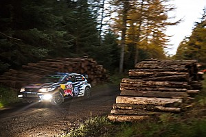 WRC Rapport d'étape ES8 - Ogier termine le premier jour en tête, mais...