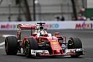 Formel 1 in Mexiko: Freitagsbestzeit für Sebastian Vettel im Ferrari