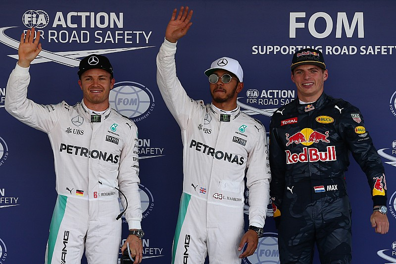 墨西哥大奖赛排位赛:汉密尔顿夺杆位,罗斯伯格抢回第一排