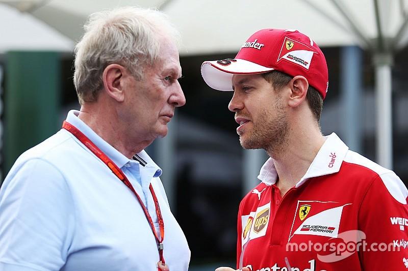 """Marko - Le comportement de Vettel est """"indigne d'un quadruple champion"""""""