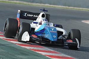Формула V8 3.5 Отчет о гонке Оруджев выиграл первую гонку в Барселоне