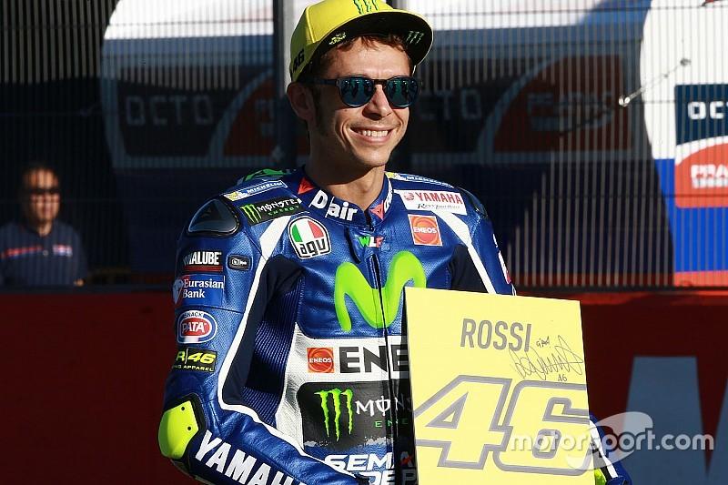 """Rossi: """"A Viñales lo meto en el mismo plano que a Lorenzo"""""""
