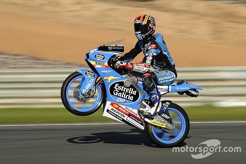 Moto3 Valencia: Canet rebut pole untuk pertama kalinya