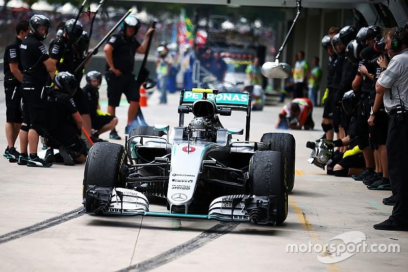 Mercedes перенесла зону пит-стопа на Интерлагосе