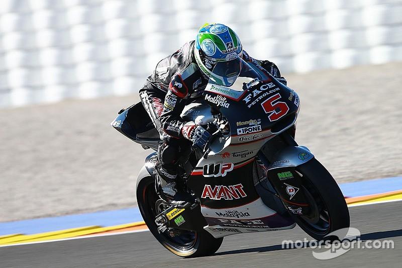 【Moto2バレンシア】予選:超接近戦の予選を制したのはザルコ! 中上は9番手