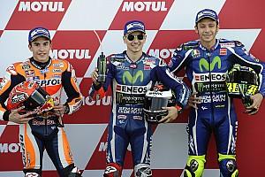 MotoGP Résultats La grille de départ du Grand Prix de Valence