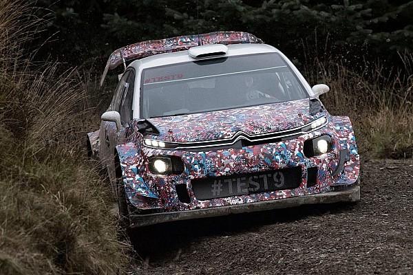 Citroen: ecco un nuovo paraurti posteriore per la C3 nei test in Galles
