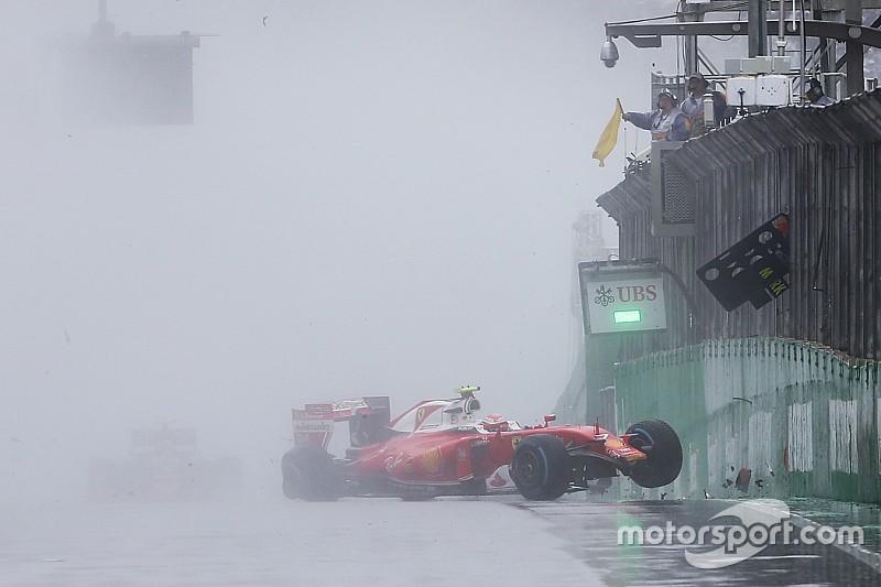 Kimi diz que pneus de chuva da F1 eram melhores há doze anos