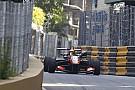 Formel 3 in Macau: 2. Training nach Crash vorzeitig zu Ende