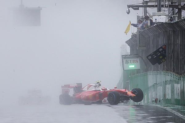 F1 莱科宁:如今F1的雨胎不及十年前