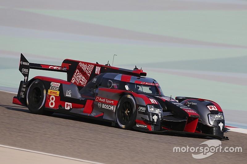 Audi logra la pole en su despedida del WEC