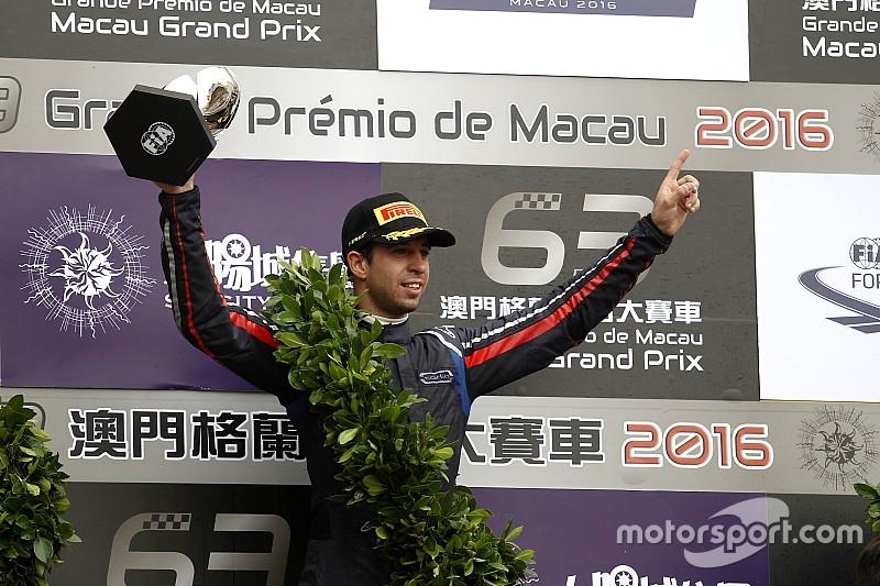 """Felix da Costa: """"Last-minute deelname maakt deze Macau-zege des te mooier"""""""