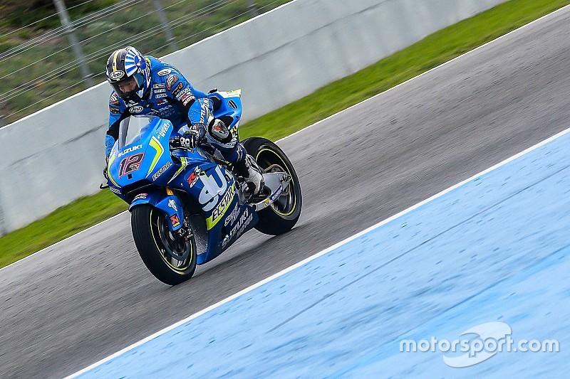 Laatste dag van MotoGP-test Jerez valt in het water