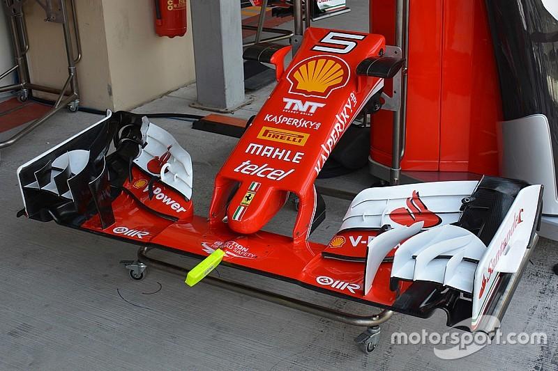 Técnica: Más test de Ferrari