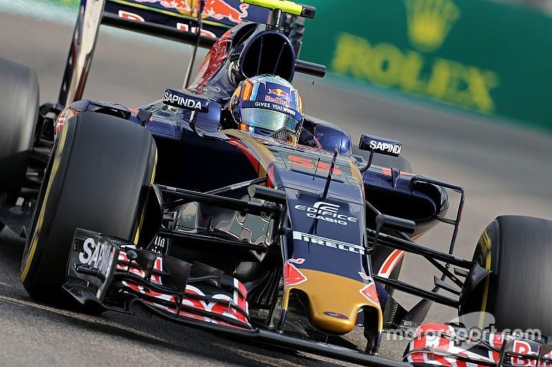 Toro Rosso ajustó la suspensión tras los fallos en la llanta trasera