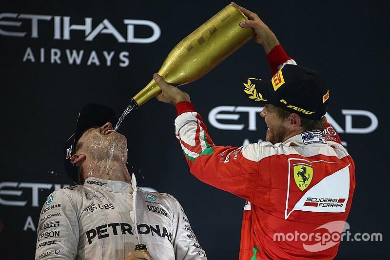 """Vettel habla de """"trucos sucios"""" al calificar lo hecho por Hamilton"""