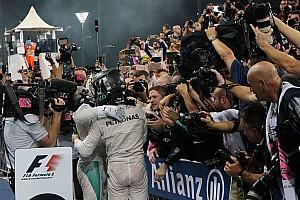 F1 Artículo especial Lluvia de felicitaciones al nuevo campeón, Nico Rosberg