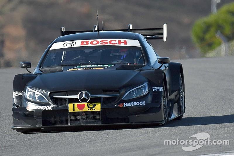 Edoardo Mortara vor erstem DTM-Test für Mercedes in Jerez