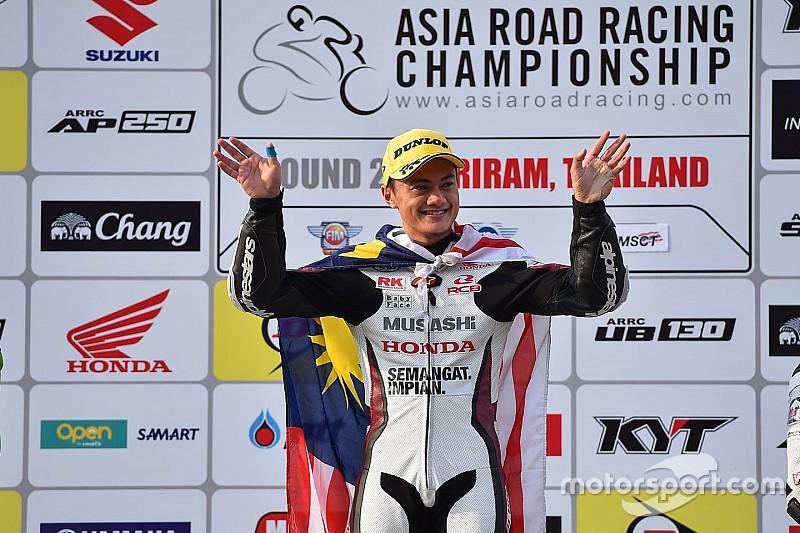 Zaqhwan butuh dua kemenangan untuk juarai ARRC