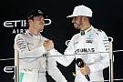 """Rosberg: """"Hamilton waarschijnlijk een van de beste rijders aller tijden"""""""