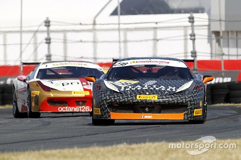 """Ferrari-Weltfinale: Mancinelli holt Sieg bei """"Trofeo Pirelli"""" der Ferrari-Challenge"""