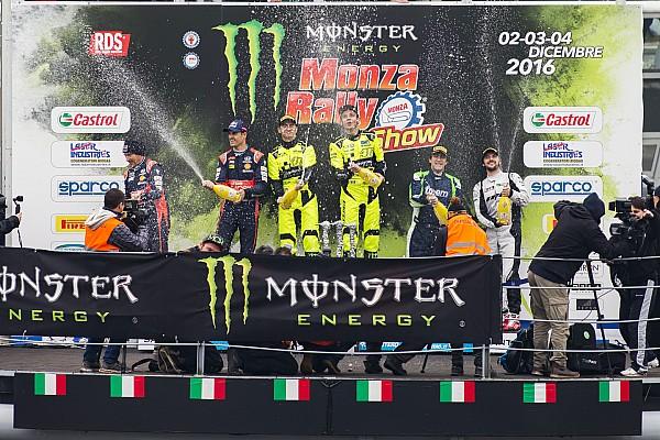 Other rally Noticias de última hora Valentino presume su título en el Monza Rally Show