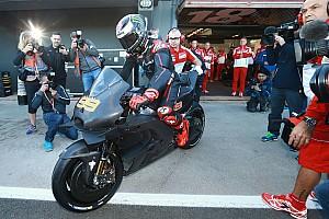 MotoGP Interview Avec Lorenzo, Ducati vise