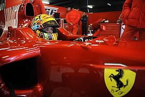 F1 Top List 图集:瓦伦蒂诺·罗西法拉利F1测试全纪录