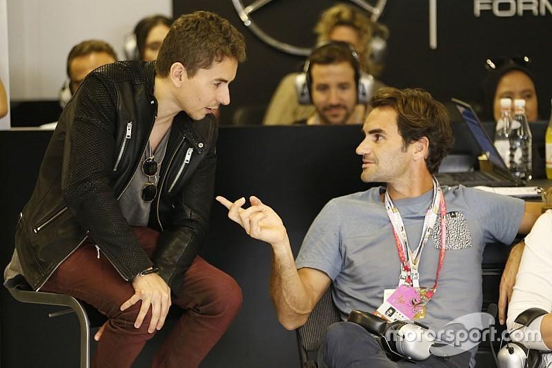 Lorenzo, de vacaciones con su nuevo entrenador