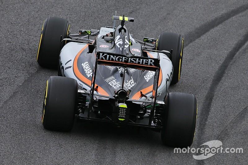 El VJM10 de Force India superó las pruebas de impacto