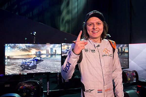 Formule E Résumé de course Bono Huis remporte la première Vegas eRace sur tapis vert