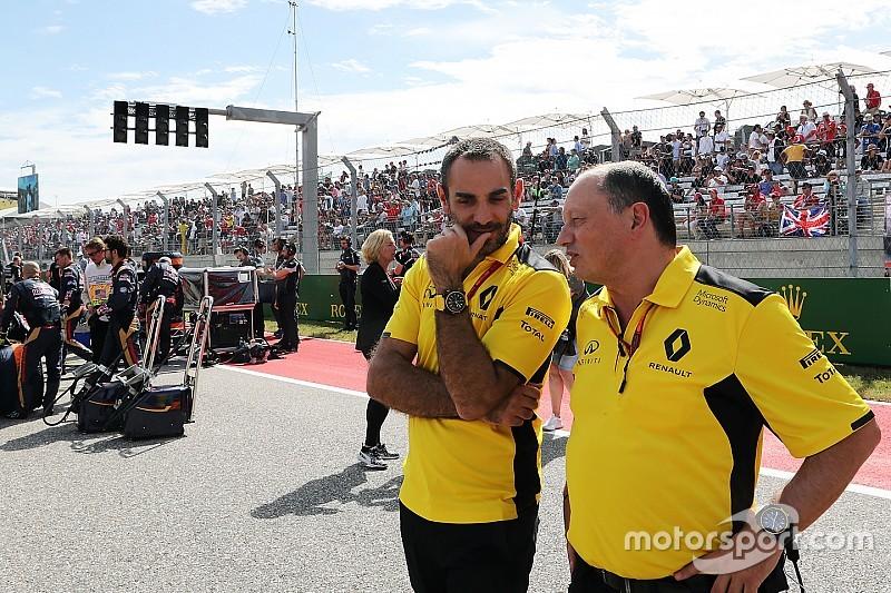 Renault Sport F1 ne va pas remplacer Vasseur