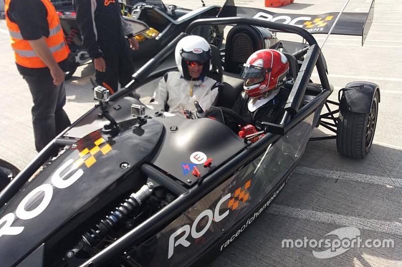 Castroneves mostra habilidade em carro da Race of Champions