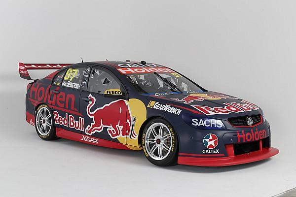 Le nouveau Red Bull Holden Racing Team dévoile ses couleurs