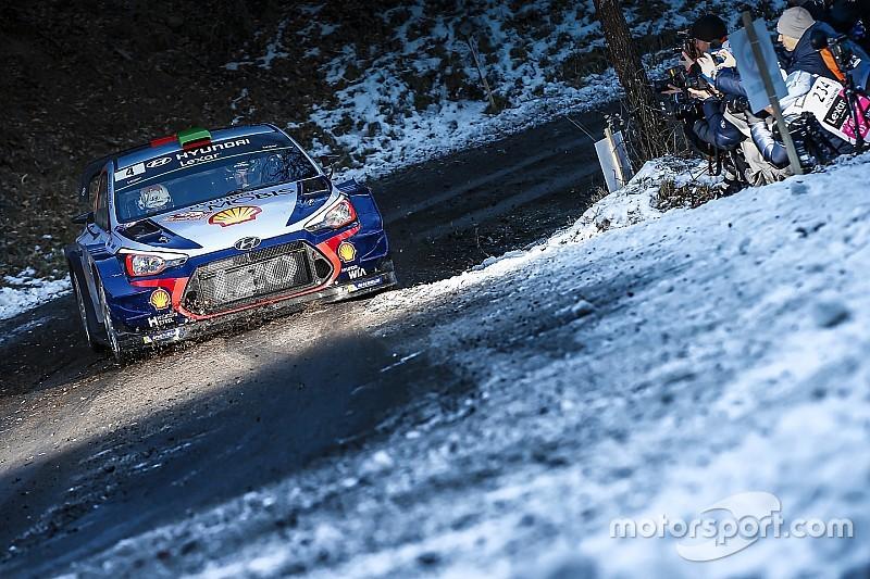 WRC Monte Carlo: Eerste proef afgelast na crash Paddon